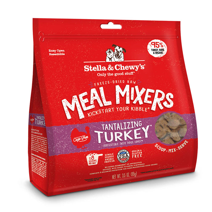 Stella & Chewy's Dog Tantalizing Turkey Meal Mixers