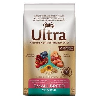 Nutro Ultra Canine Small Breed Senior 8lb