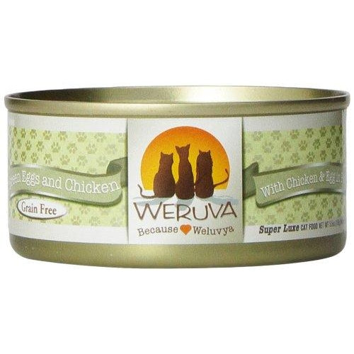 Weruva Green Eggs Chicken Cat Food 3 oz