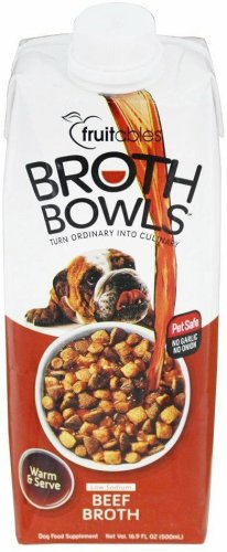 Fruitables Broth Bowls - Beef 16.9oz
