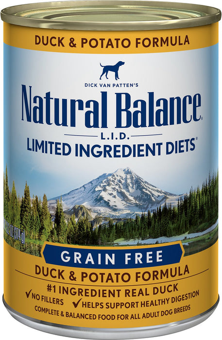 Natural Balance L.I.D. Duck & Potato Formula