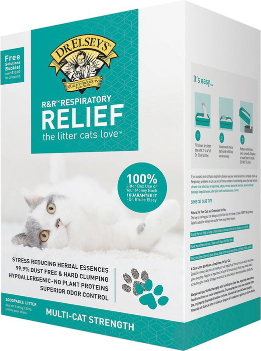 R&R™ Respiratory Relief Clumping Clay 20lb Litter