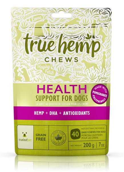 True Hemp Chews Health Support for Dogs