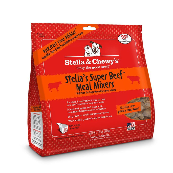Stella & Chewys Super Beef Freeze-Dried Meal Mixer Dog Food
