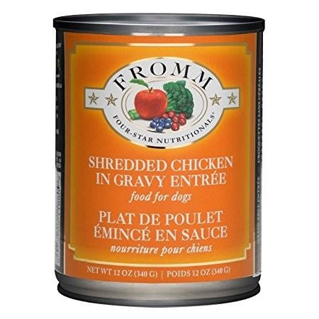 Fromm Shredded Chicken in Gravy - 12 oz