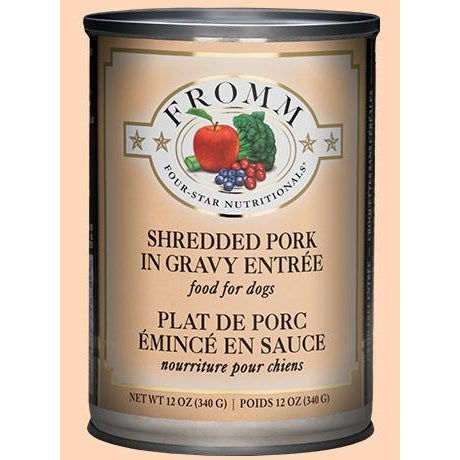 Fromm Shredded Pork in Gravy - 12 oz