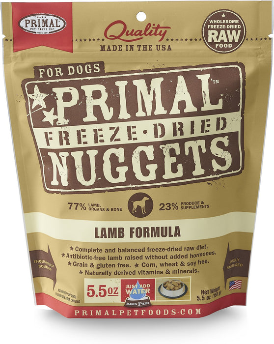 Primal Freeze-Dried Lamb Canine