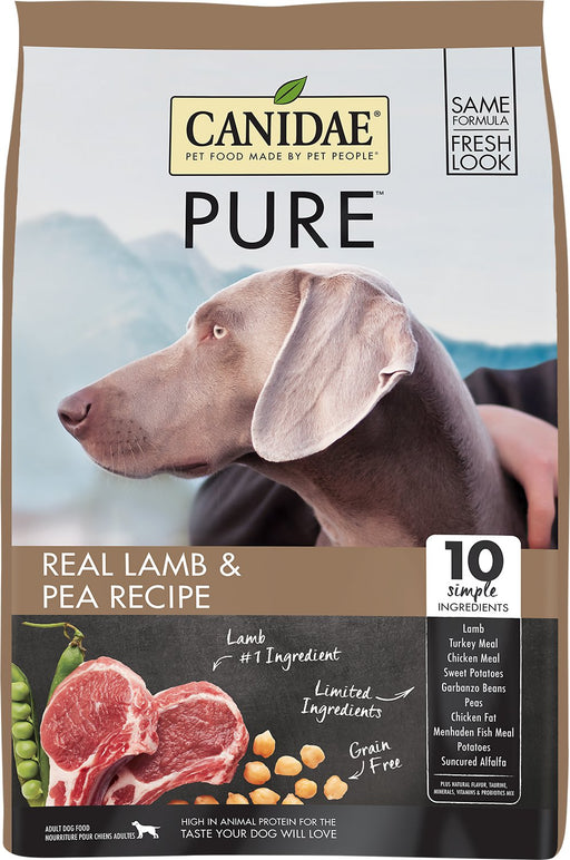 Canidae Pure Grain Free Real Lamb Dry Dog Food