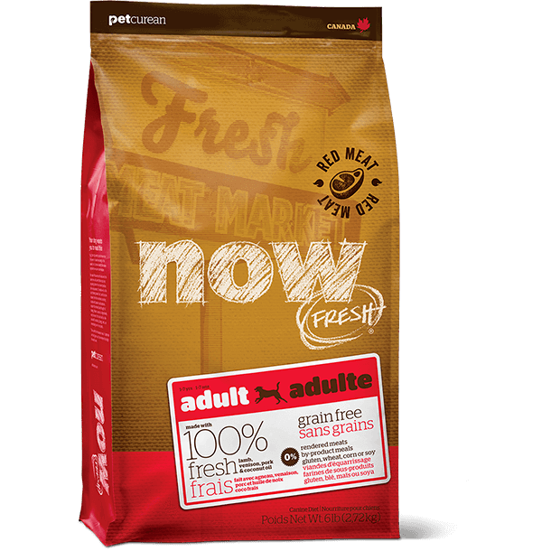Now! Fresh Canine Grain Free Adult Red Meat 6lb