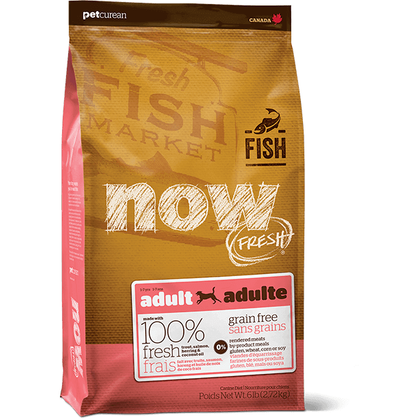 Now! Fresh Canine Grain Free Adult Fish 6lb