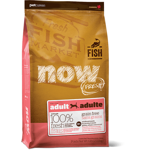 Now! Fresh Canine Grain Free Adult Fish