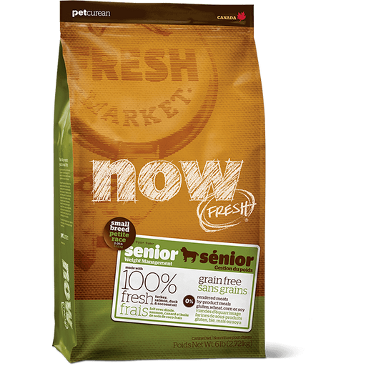 Now! Fresh Canine Grain Free Senior Small Breed 6lb