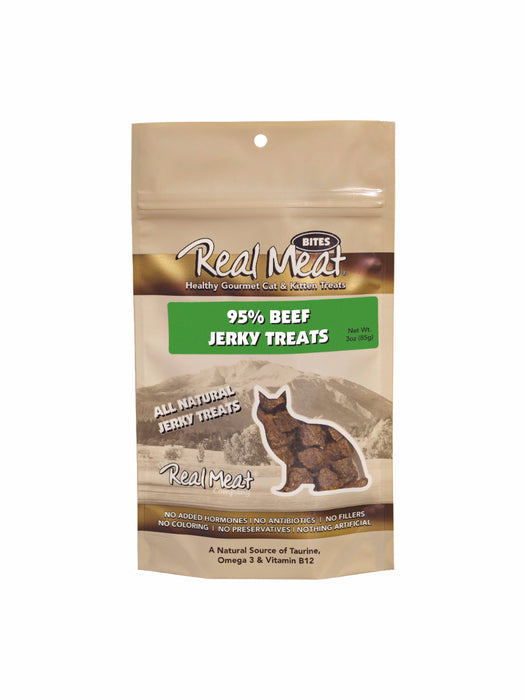 Real Meat Treat Cat Beef 3 oz