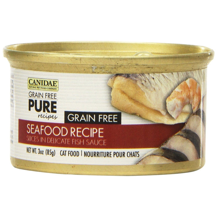 Canidae Grain Free Pure Seafood Cat Food 3 oz