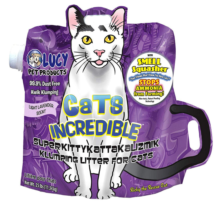 Cats Incredible Lavender 25 lb Bag