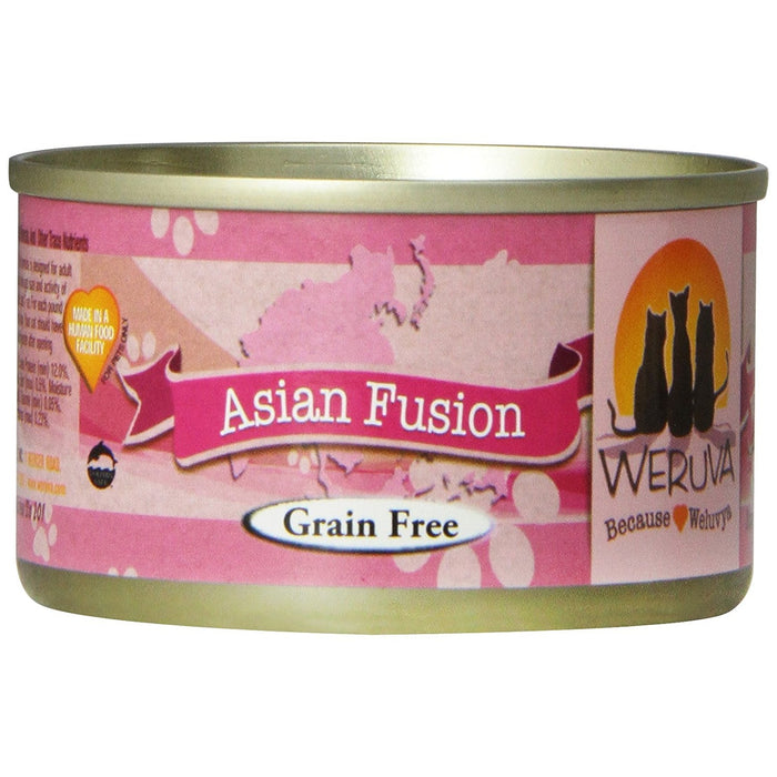 Weruva Asian Fusion Cat Food 3 oz