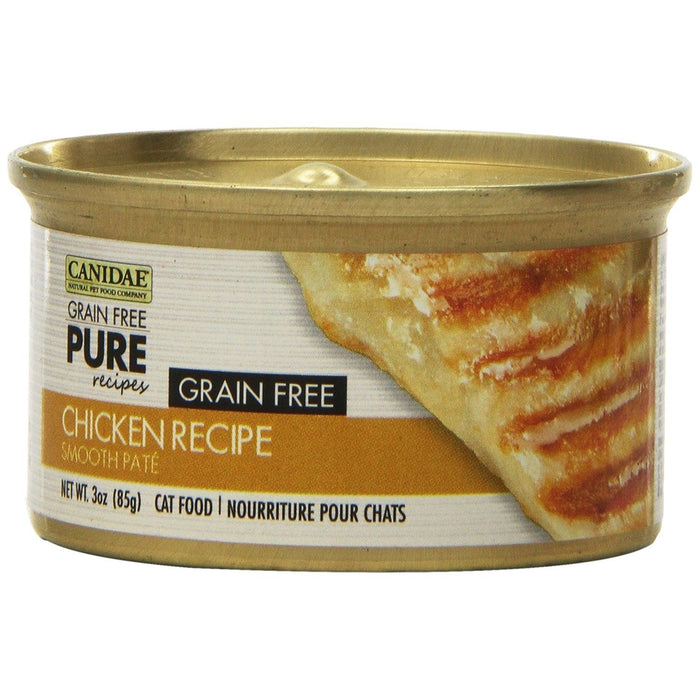 Canidae Grain Free Pure Chicken Cat Food 3 oz