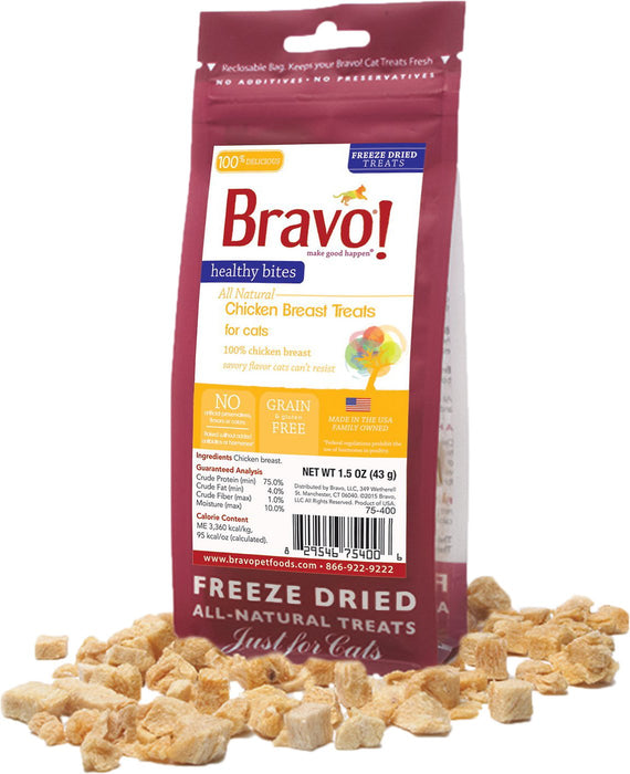 Bravo Healthy Bites Chicken Breast 1.5 oz