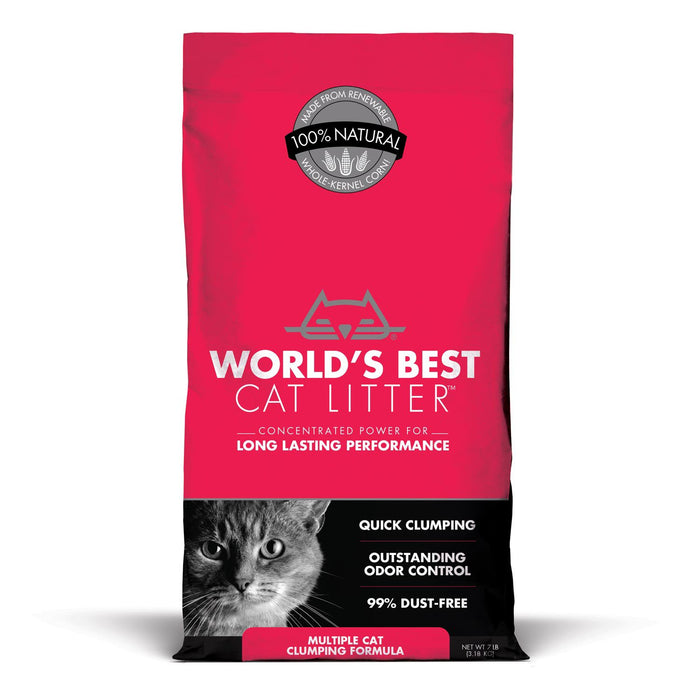 World's Best Multiple Cat Clumping Litter
