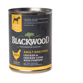 Blackwood Dog Canned Chicken and Chicken Liver 13 oz