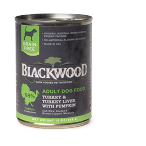 Blackwood Dog Canned Turkey Liver and Pumpkin 13 oz