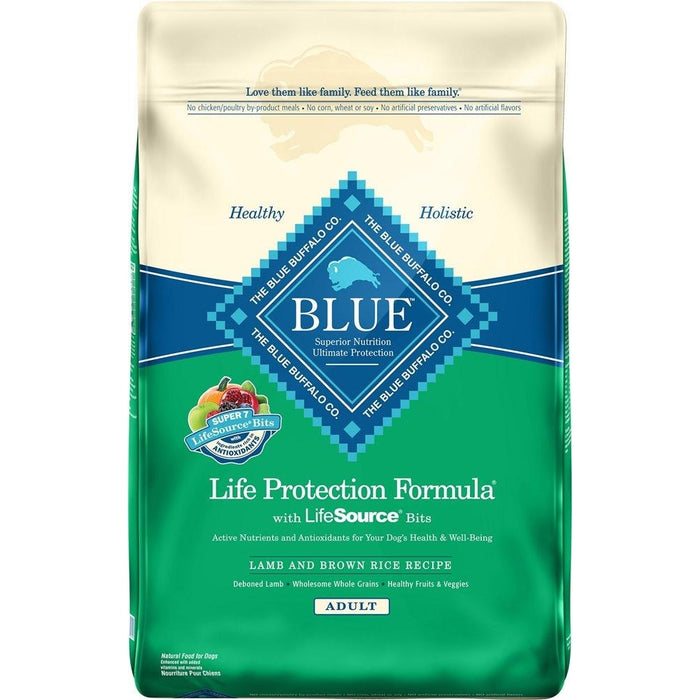 Blue Buffalo Lamb and Brown Rice Adult Dog Food