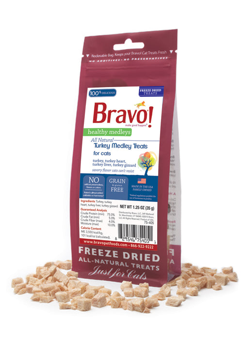 Bravo Healthy Medley Turkey Organ 1.25 oz