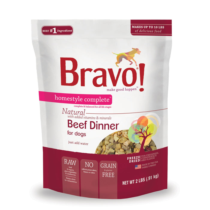 Bravo Homestyle Complete Freeze Dried Dinner Beef