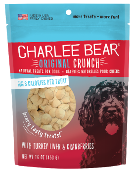 Charlee Bear Turkey Liver and Cranberries Treat 16 oz