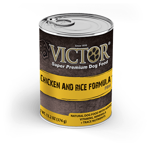 Victor Chicken and Rice Formula Canned Pâté Dog Food 13 oz