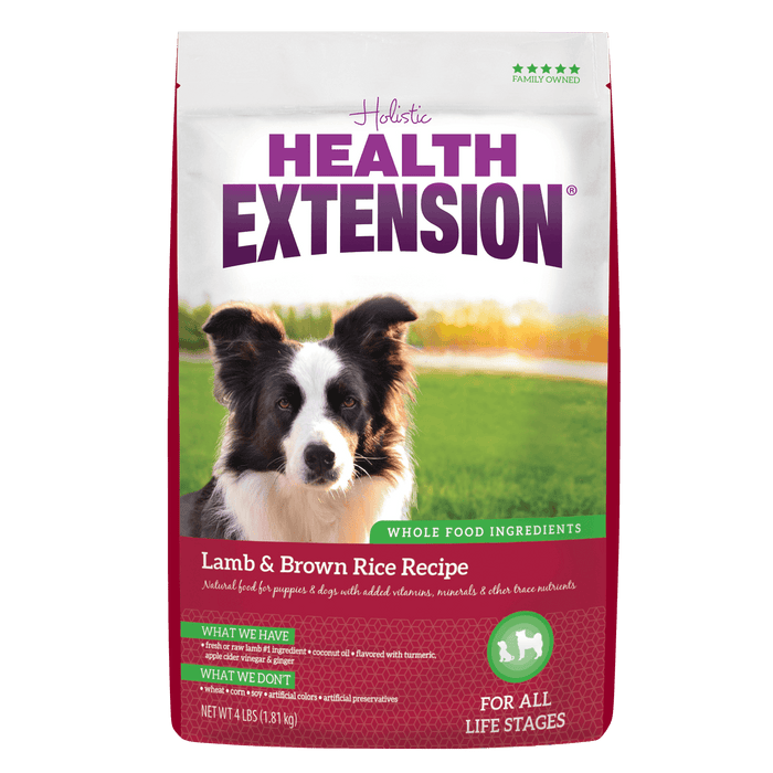 Holistc Health Extension Lamb & Brown Rice - 15 lb
