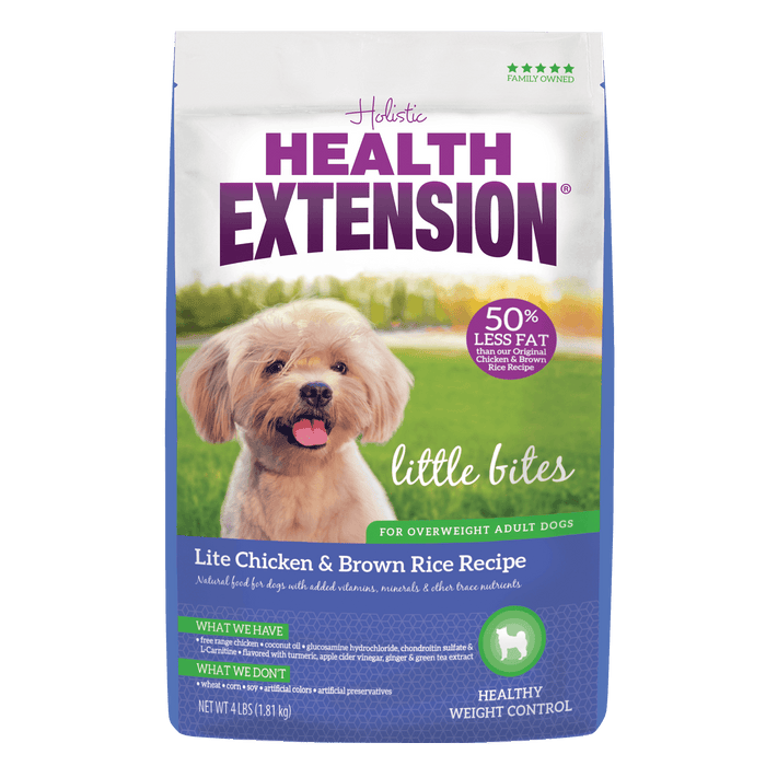 Health Extension Lite Little Bites Dog Food 15 lb
