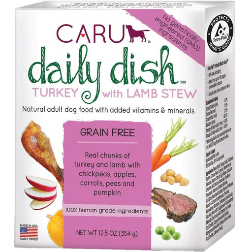 Caru Daily Dish Turkey with Lamb Stew 12.5oz