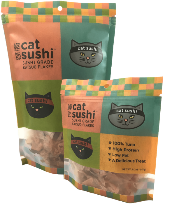 Cat Sushi Classic Cut Bonito Flakes .7 oz Bag
