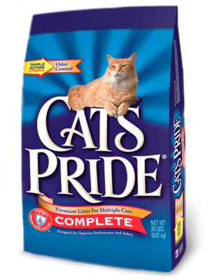 Cat's Pride Complete Multi-Cat Scoopable Litter 20 lb