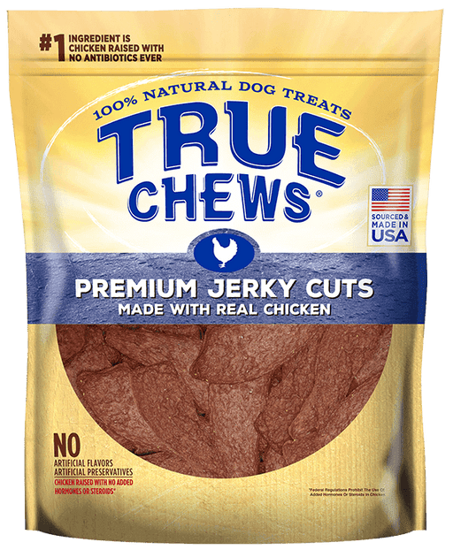 True Chews Premium Jerky Cuts Chicken Recipe Dog Treats, 4 oz