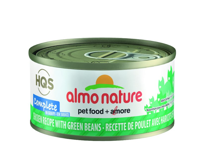 Almo Nature Complete Chicken Recipe with Green Beans Wet Cat Food, 2.47 oz