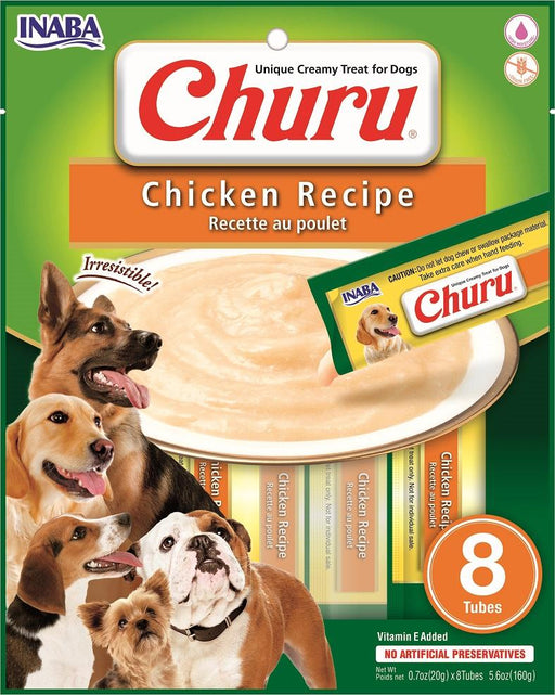 Inaba Churu Creamy Chicken Treats, 8 pack