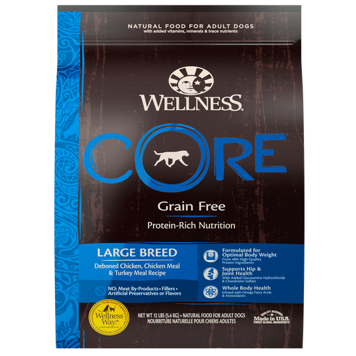 Wellness Core Natural Canine Grain Free Large Breed
