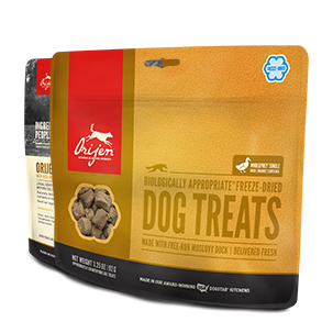 Orijen Freeze Dried Dog Treat - Duck 1.50oz