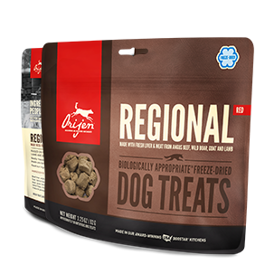 Orijen Freeze Dried Dog Treat - Regional Red 1.5oz