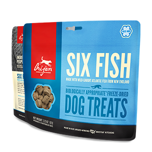 Orijen Freeze Dried Dog Treat - Six Fish 1.5oz