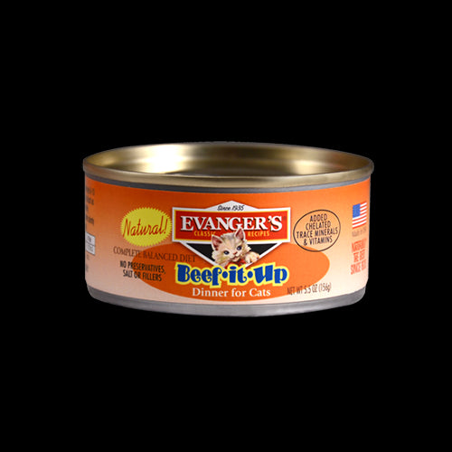 Evangers Cat Can Gourmet Classic Beef It Up 5.5 oz