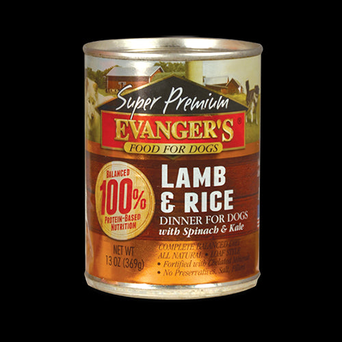 Evangers Gold Lamb & Rice 12.8 oz