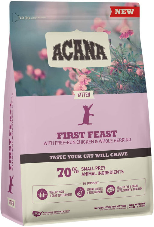 Acana First Feast Kitten Dry Food, 4 lbs
