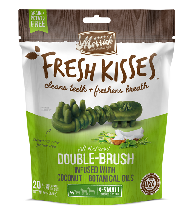 Merrick Fresh Kisses Coconut Oil and Botanicals