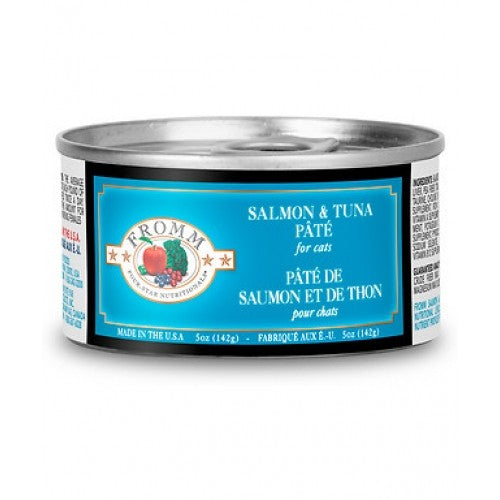 Fromm 4-Star Salmon and Tuna Pate Cat Food 5 oz
