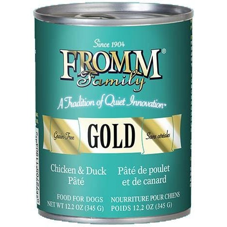 Fromm Gold Chicken and Duck Pate 12 oz