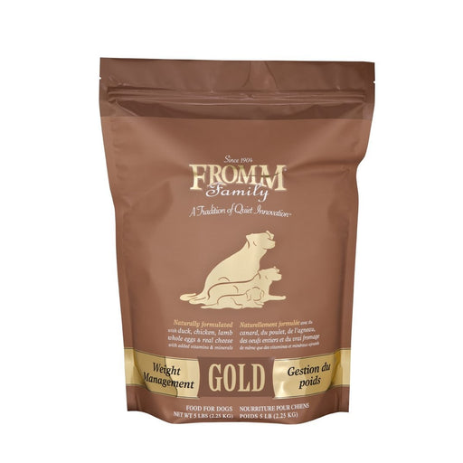 Fromm Gold Weight Management Dog Food 5 lbs