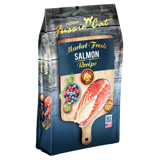 Fussie Cat Market Fresh Salmon Recipe Cat Food 4 lbs